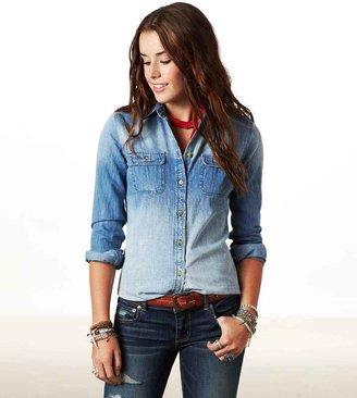 American Eagle AE Denim Workwear Shirt