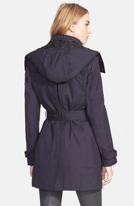 Burberry 'Reymoore' Trench Coat with Detachable Hood & Liner