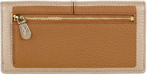 Cole Haan Village Slim Leather Wallet, Camello Tan