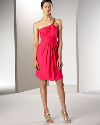 T-Bags T Bags One Shoulder Rope Dress
