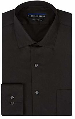 Geoffrey Beene Men's Fitted Sateen Dress Shirt