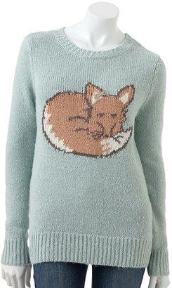 Lauren Conrad fox sweater