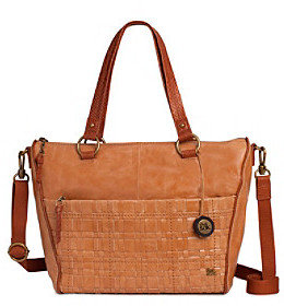 The Sak The SakTM Iris Camel Woven Satchel