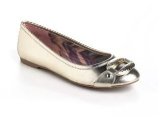 Circa Joan & David Indreya Leather Ballet Flats