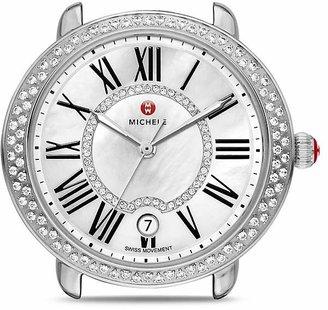 MICHELE Serein 16 Diamond Dial Watch Head, 36 x 34mm $1,895 thestylecure.com