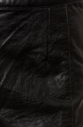Blank NYC The Vegan Leather Short in Coachella