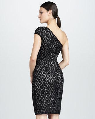 David Meister Lace Cocktail Dress