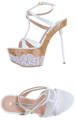 Gianmarco Lorenzi Platform sandals