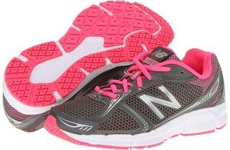 New Balance W480V3 (Grey/Pink) - Footwear