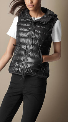 Burberry Sport Collection Quilted Down-Filled Gilet