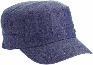 Kangol Denim Army Cap,(Manufacturer Size: /Medium)