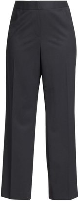 Lafayette 148 New York, Plus Size Menswear Stretch-Wool Pants