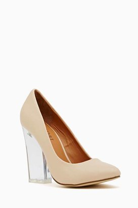 Nasty Gal Shoe Cult Minx Pump - Nude