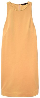 Tibi Ponte Sleeveless Shift Dress