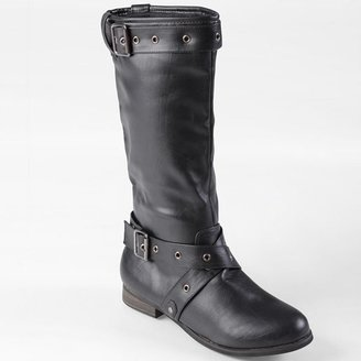 Journee Collection whitney midcalf boots - women