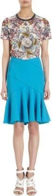 Prabal Gurung Ruffled Flounce Skirt