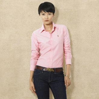 Ralph Lauren Blue Label Solid Oxford Shirt