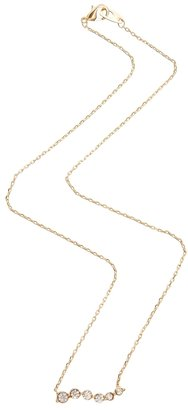 Gogo Philip Crystal Stone Row Necklace
