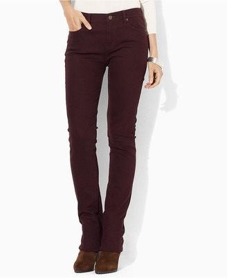 Lauren Ralph Lauren Petite Jeans, Slimming Modern Straight-Leg Colored