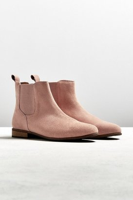 Urban Outfitters UO Suede Chelsea Boot $89 thestylecure.com