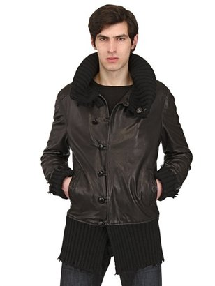 Wool & Nappa Leather Jacket