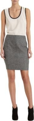 Barneys New York CO-OP Tweed Skirt