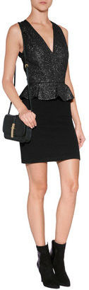 Vanessa Bruno Peplum Dress in Black