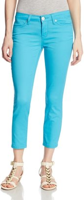 U.S. Polo Assn. Juniors Lulu Stretch Slub Twill Capri Pant