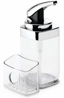 Simplehuman 22-Oz. Square Push Pump Soap Dispenser with Caddy