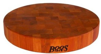 """John Boos & Co.® Cherry End-Grain Chopping Block, 15"""""""