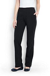 Lands' End Women's Tall Sport Knit Pants-White