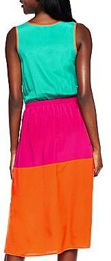 Allen B. Colorblock Dress