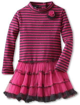 Kate Mack Bon Vivant Baby Dress (Toddler) (Fuschia) - Apparel