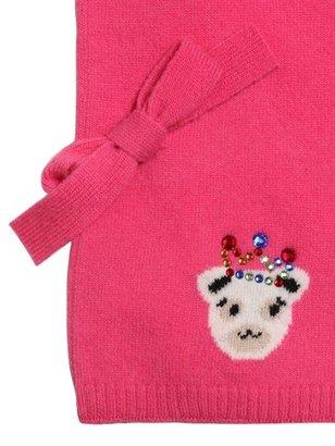 Simonetta Knitted Virgin Wool Scarf