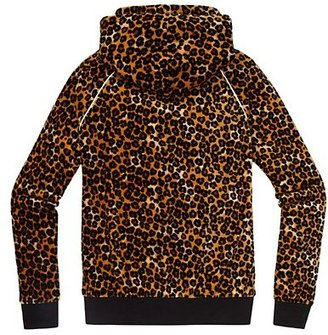 Juicy Couture Relaxed Jacket in Leopard Velour