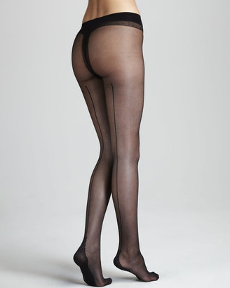La Perla Back-Stripe Tights