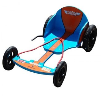 Kiddimoto Blue & Orange Box Cart