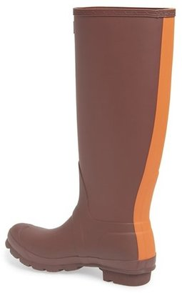 Hunter 'Original Stripe' Waterproof Rubber Boot (Women)