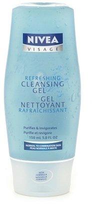 Nivea Refreshing Cleansing Gel, Normal to Combination Skin