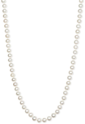Judith Jack 7mm Long Strand Pearl Necklace