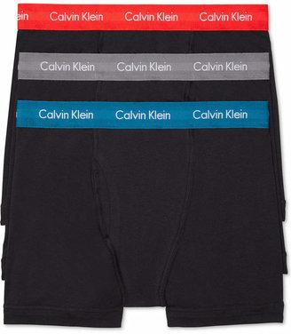 Calvin Klein Men Cotton Stretch Boxer Briefs 3-Pack NU2666