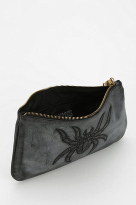 Urban Outfitters Deena & Ozzy Embroidered Animal Wristlet