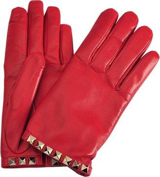 Valentino Rockstuds gloves