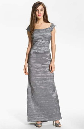 Alex Evenings Taffeta Mermaid Gown