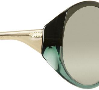 Marni Round-frame acetate sunglasses