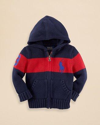 Ralph Lauren Infant Boys' Novelty Stripe Sweater - Sizes 9-24 Months