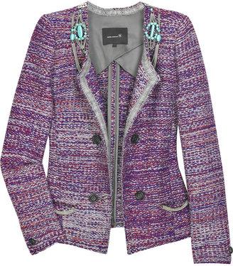 Isabel Marant Hola Veste embellished knit jacket