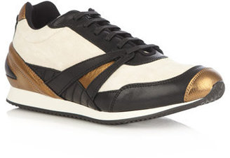 Balenciaga Leather and suede trainers