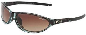 Tifosi Optics Alpetm 2.0 (Blue Tortoise/Brown Gradient Lens) Athletic Performance Sport Sunglasses