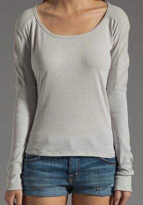 Bobi Lightweight Jersey Long Sleeve Scoop Neck